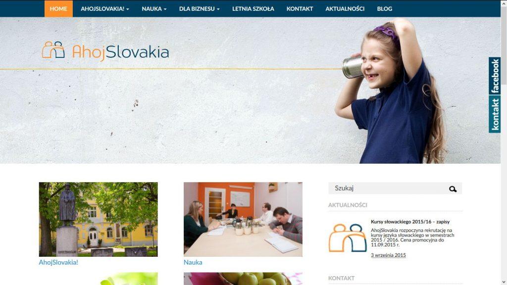 Serwis WWW AhojSlovakia